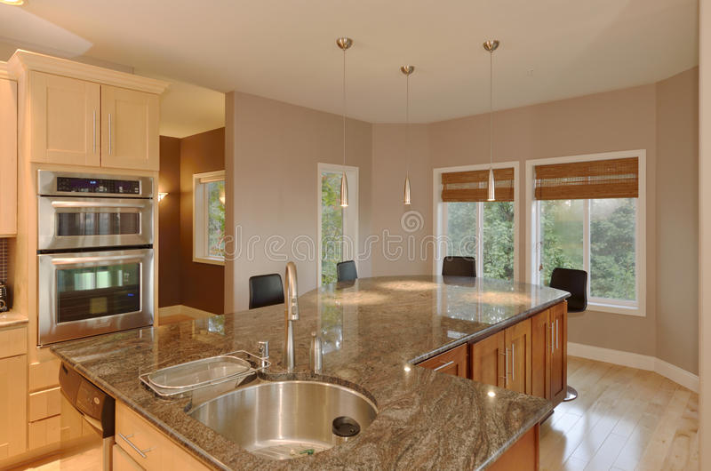 Download Granite Kitchen Counter Stock Photography - Image: 27056182