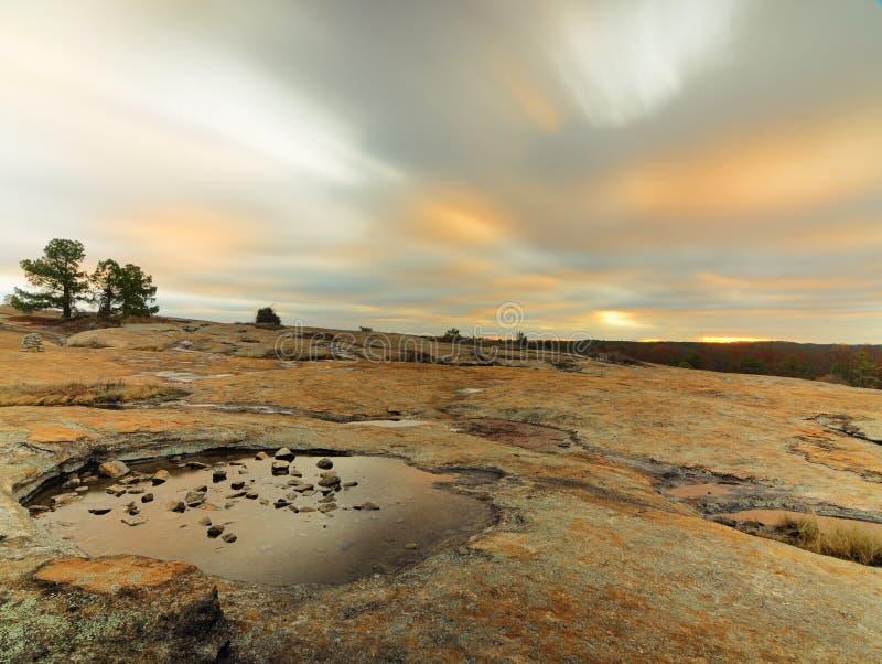 Granite Landscape stock images