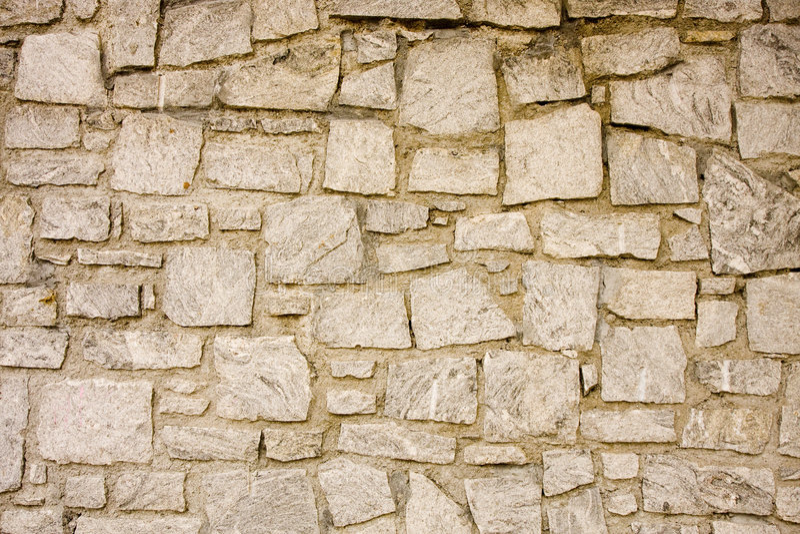 Granite and Mortar Wall stock photography
