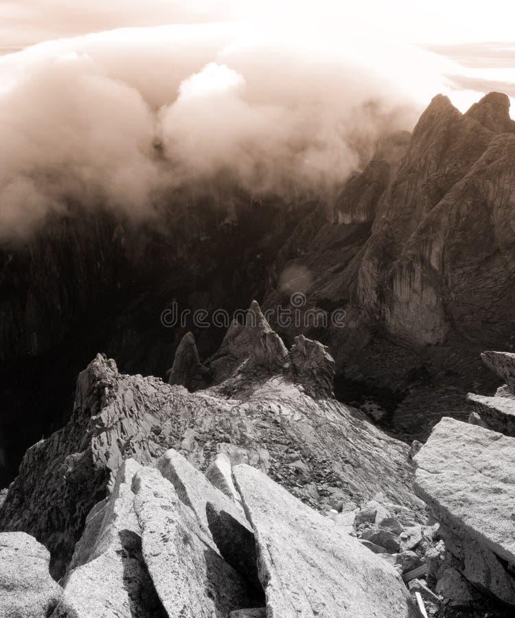 Download Granite Mountain Landscape - Mount Kinabalu Stock Image - Image: 7688843