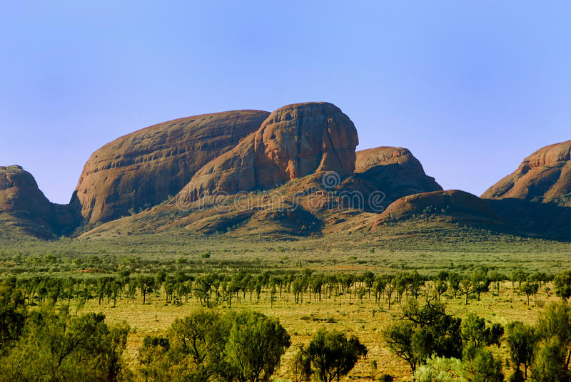 Granite mountains stock photography
