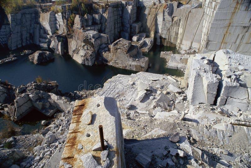 Download Granite quarry stock image. Image of excavation, rocky - 23161897