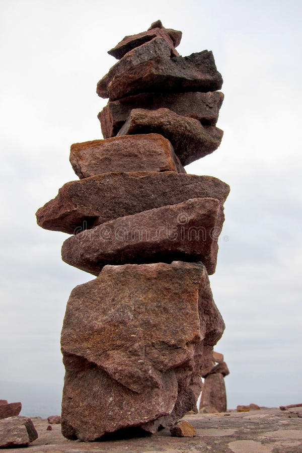Granite Rock Stone Stack Formation royalty free stock image