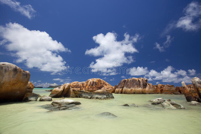 Download Granite rocks in the water stock image. Image of photo - 39502339