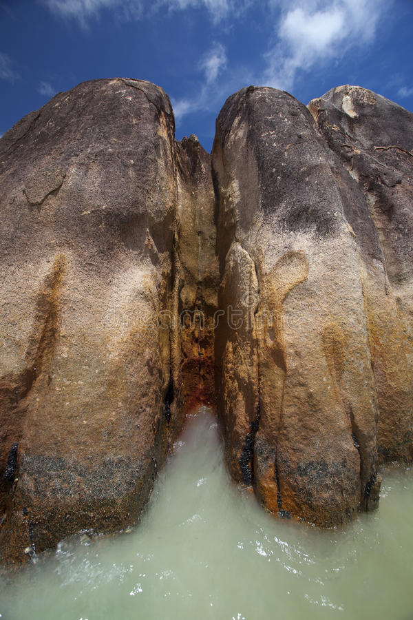 Download Granite rocks in the water stock image. Image of relax - 39503477