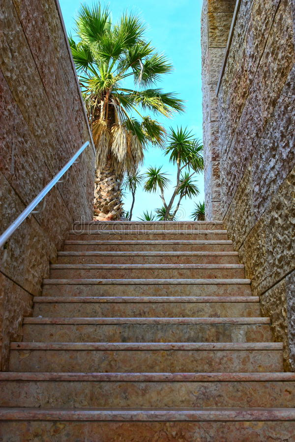 Download Granite staircase stock photo. Image of concept, building - 11813052