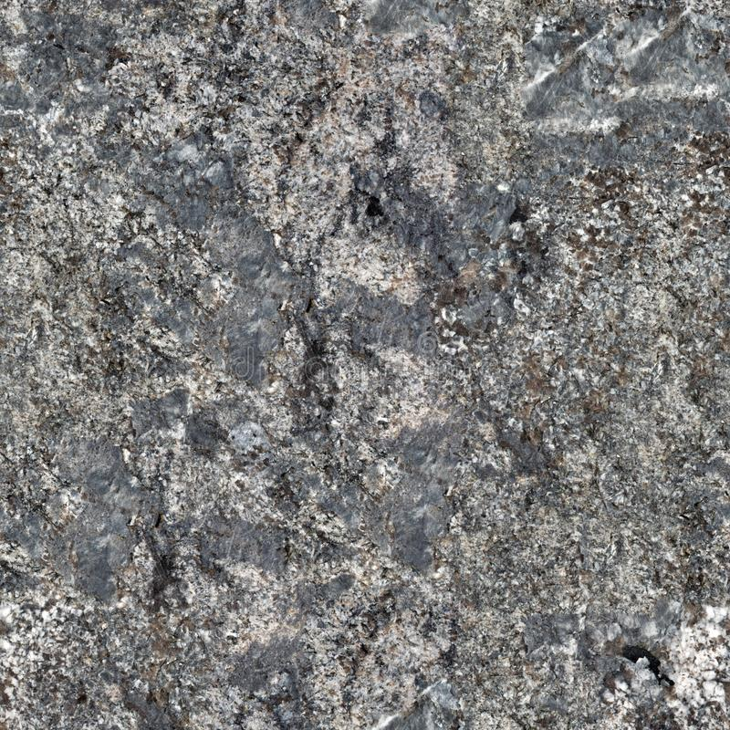 Granite stone texture. Natural, solid patterned abstract. Seamless square background, tile ready. royalty free stock image