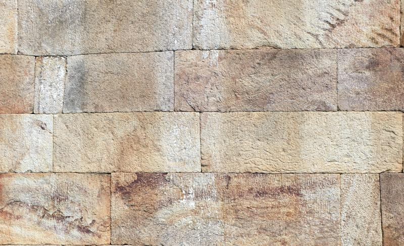 Granite stone wall, nice for background . Old castle stone wall as a background or texture. Old fort royalty free stock photos