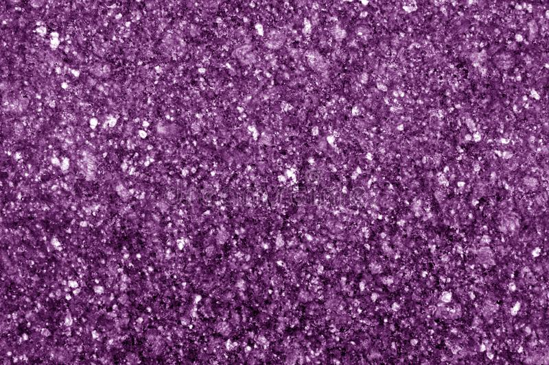 Granite surface as background in purple tone stock photo