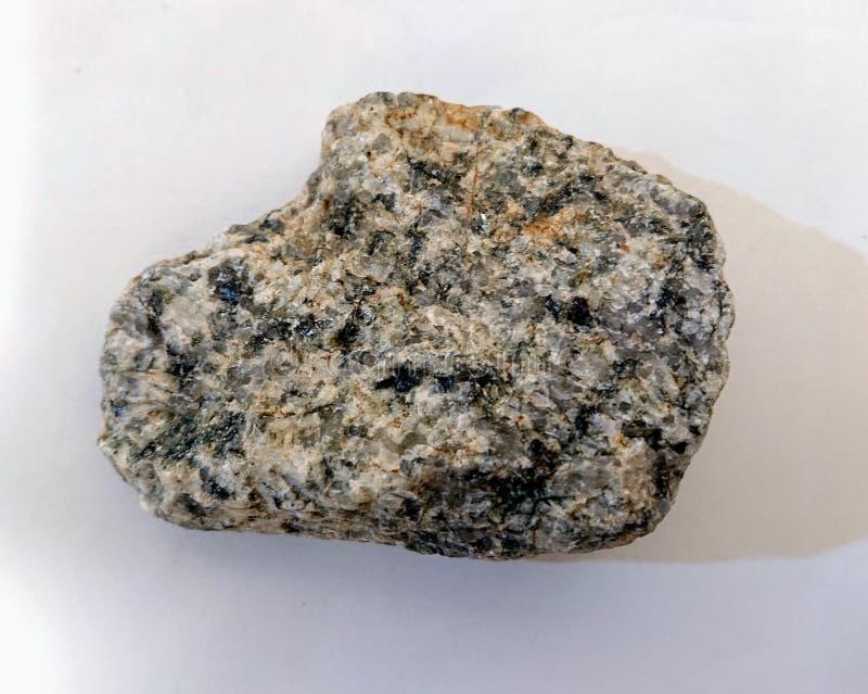 Granite White Grey Black Rock stock photography