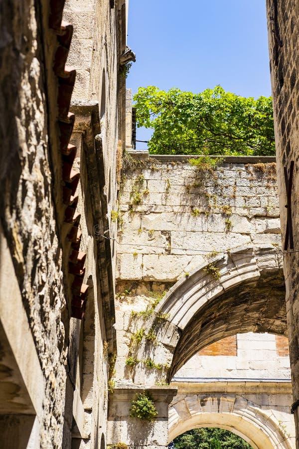 Graniti di pietra di Arch fotografia stock