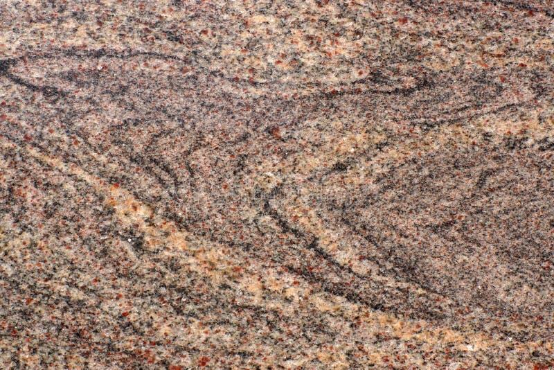 Granito di pietra lucidato naturale, chiamato Juparana Colombo immagine stock libera da diritti
