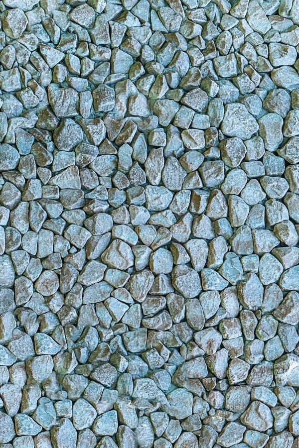 Granitowego kruszek szarość kamienia udziału wzoru tła grunge stylu projekta ogródu dekoracji tekstury sztywna baza obraz royalty free