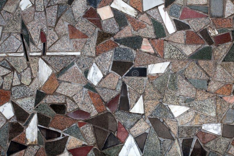 Granitowy kamiennej ściany tekstury tło zdjęcie royalty free