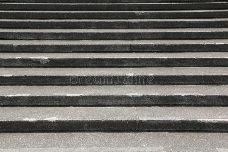 Granitowy schody tło fotografia stock