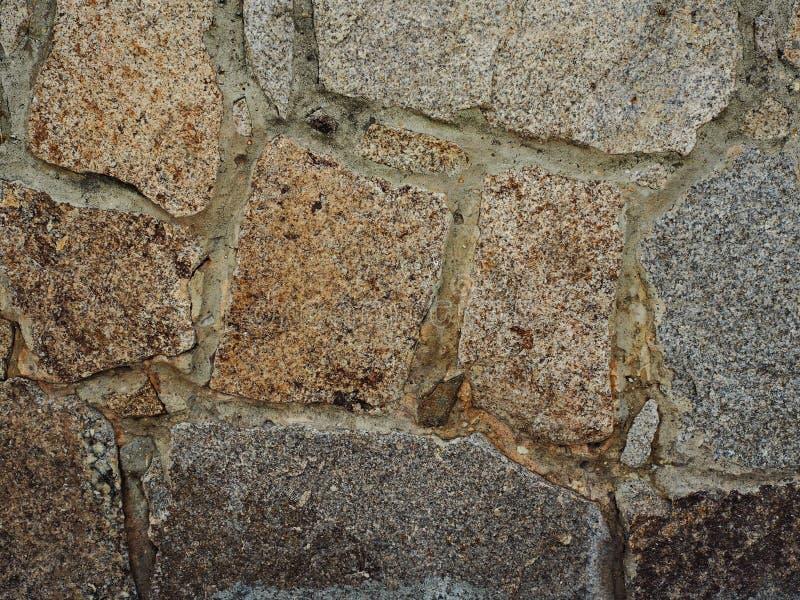Granittexturvägg arkivfoto