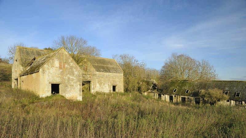 Granja abandonada de Cotswold imagen de archivo