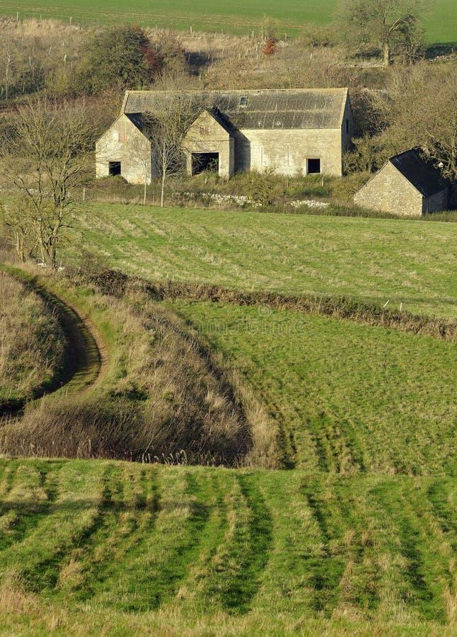 Granja abandonada de Cotswold fotos de archivo