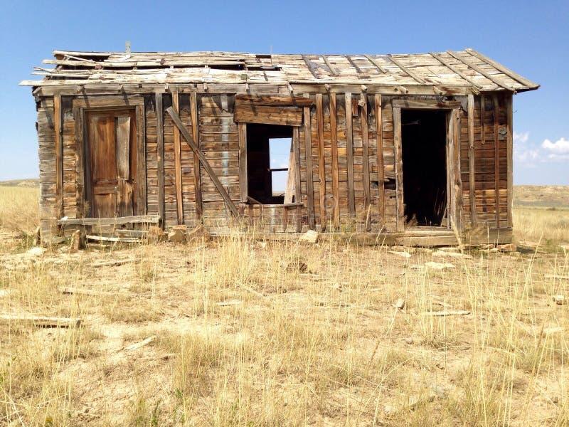 Granja abandonada vieja fotos de archivo