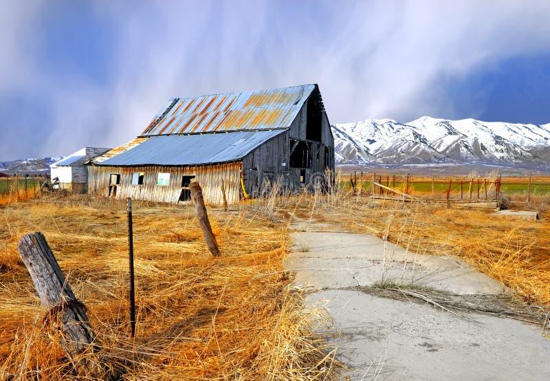 Granja de Idaho imagenes de archivo