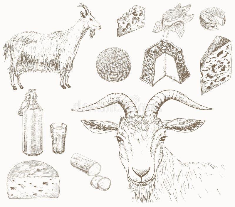 Granja de la cabra libre illustration