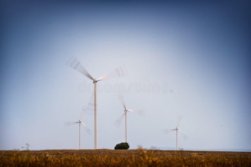 Granja de viento fotos de archivo libres de regalías