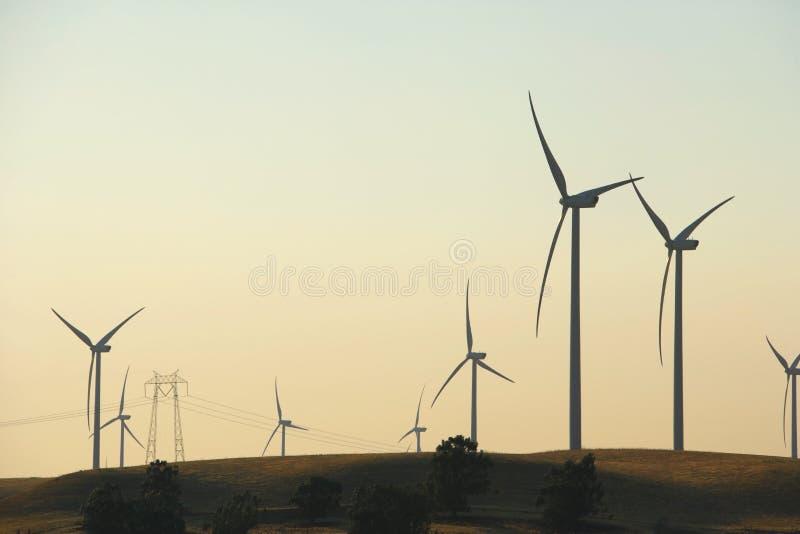 Granja de viento del delta foto de archivo libre de regalías