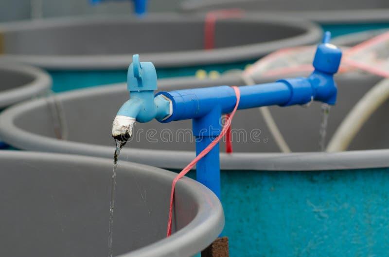 granja del circuito de agua imagenes de archivo