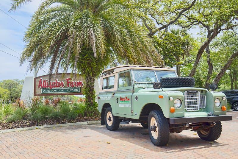 Granja del cocodrilo en St Augustine, la Florida fotos de archivo libres de regalías