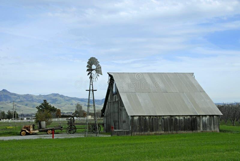 Granja del país foto de archivo libre de regalías