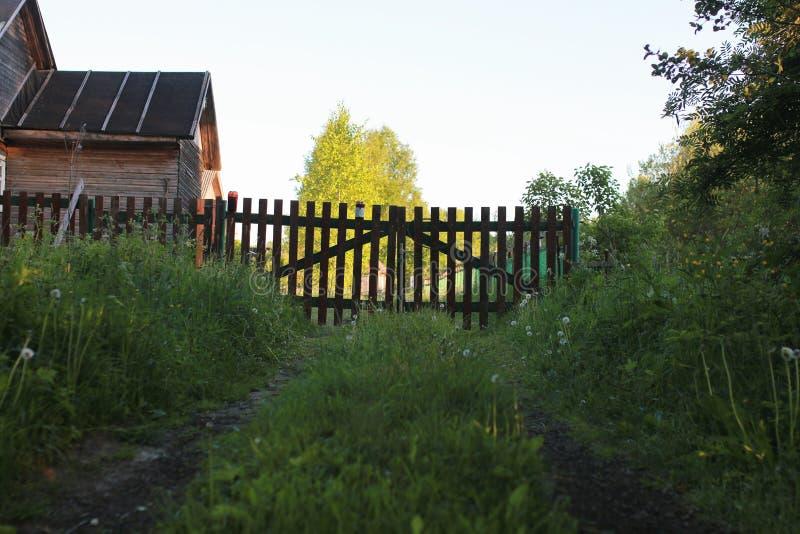 Granja en la naturaleza al aire libre foto de archivo libre de regalías