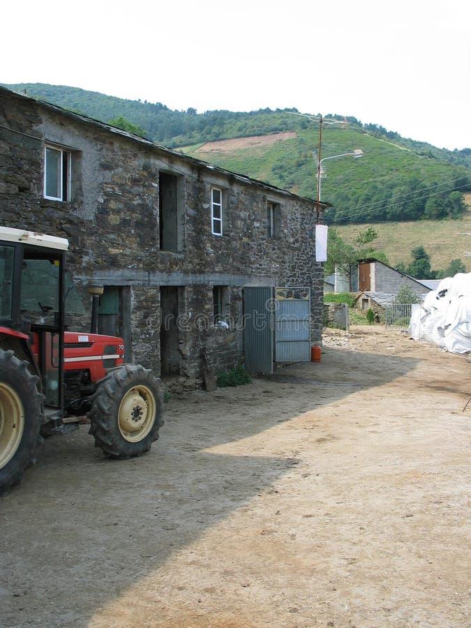 Granja española foto de archivo