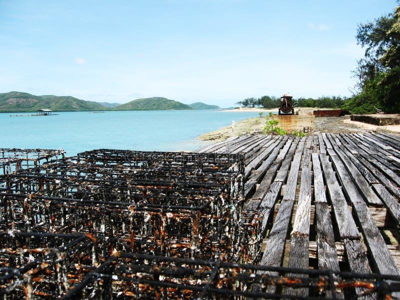 Granjas del aljófar de la isla de viernes imágenes de archivo libres de regalías