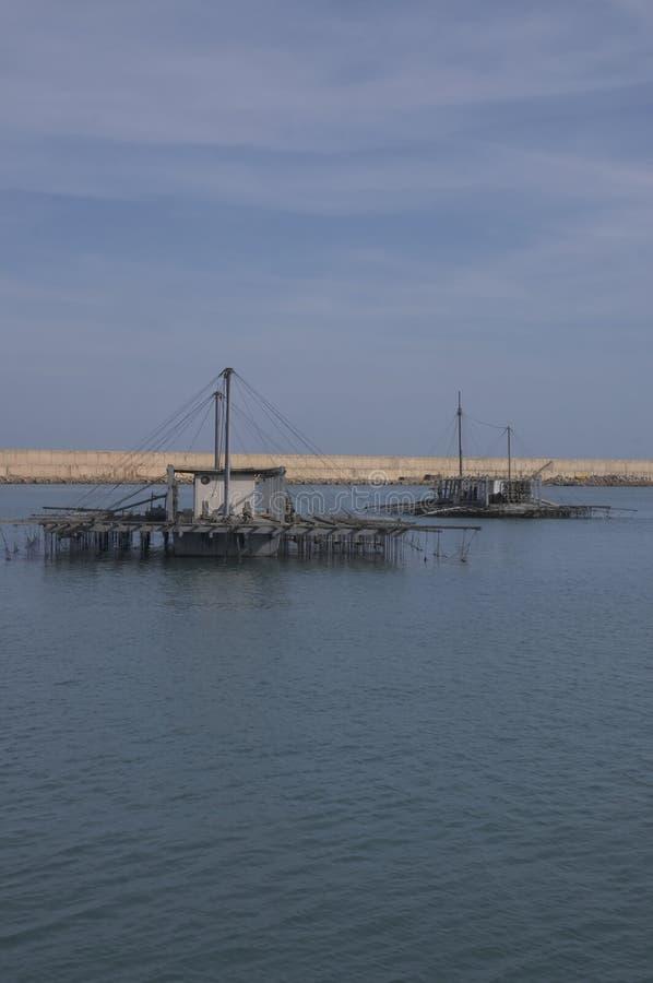 Granjas del mar imagen de archivo libre de regalías