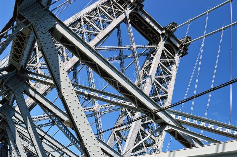 Granjas del puente de Williamsburg imagen de archivo