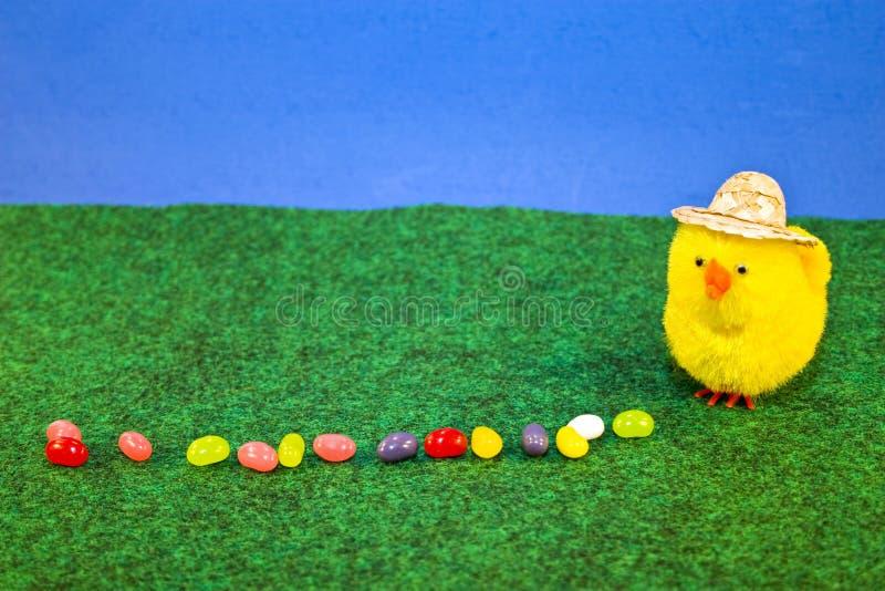 Granjero del huevo de jalea foto de archivo libre de regalías
