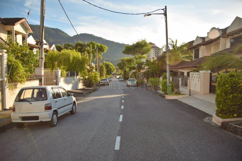 grannskap arkivbild