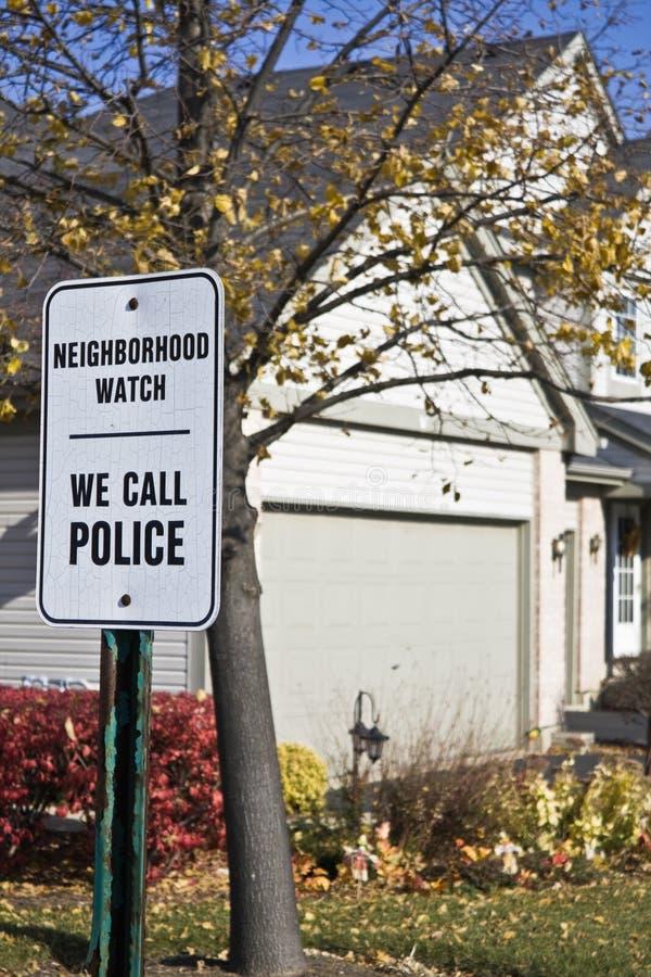 grannskapwatch fotografering för bildbyråer