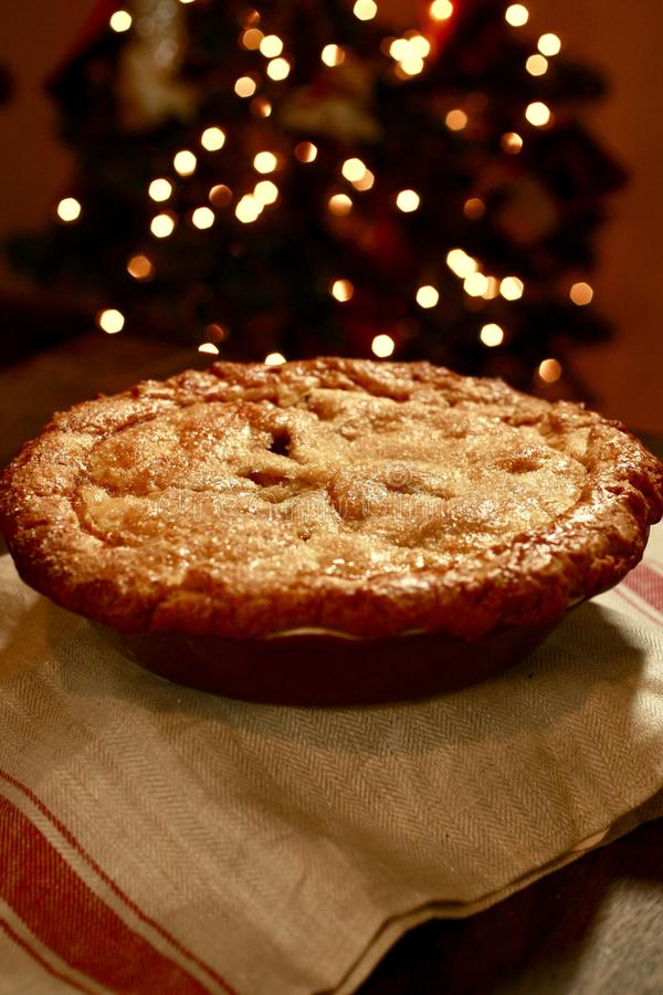 Granny Smith Apple Pie For Christmas stock photo