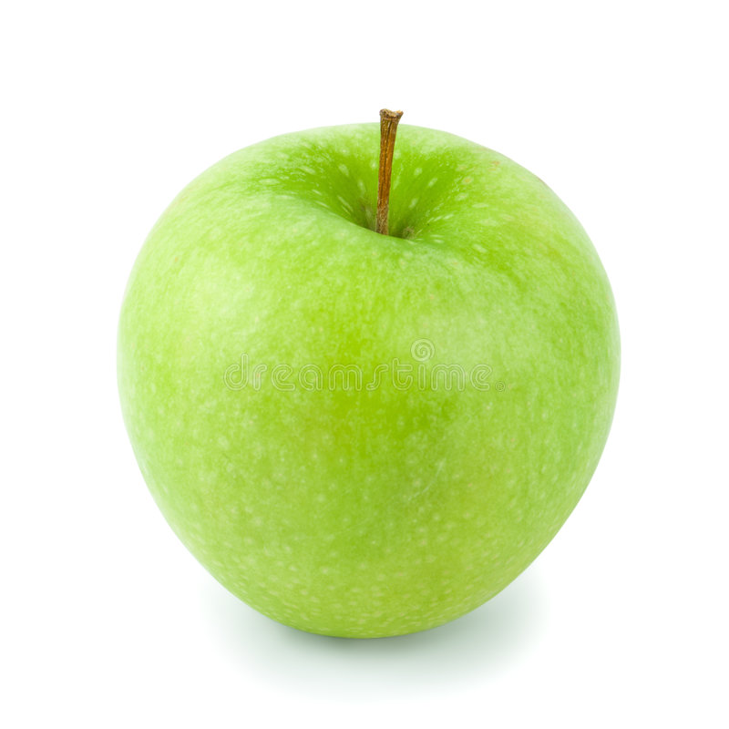 Free Granny Smith Apple (w/path) Royalty Free Stock Photography - 4964067
