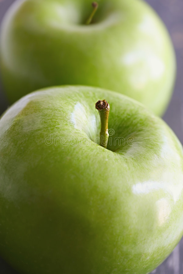 Granny Smith Apples stock images