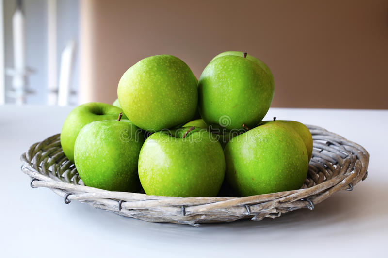 Download Granny Smith green apples stock image. Image of mature - 24419339