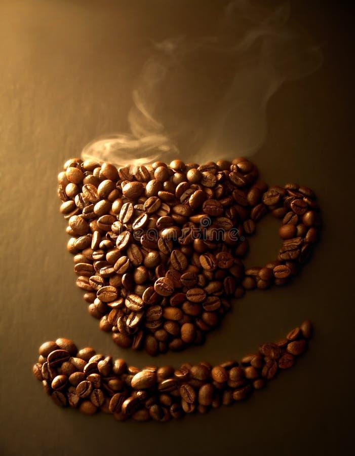 Grano de café fotografía de archivo libre de regalías