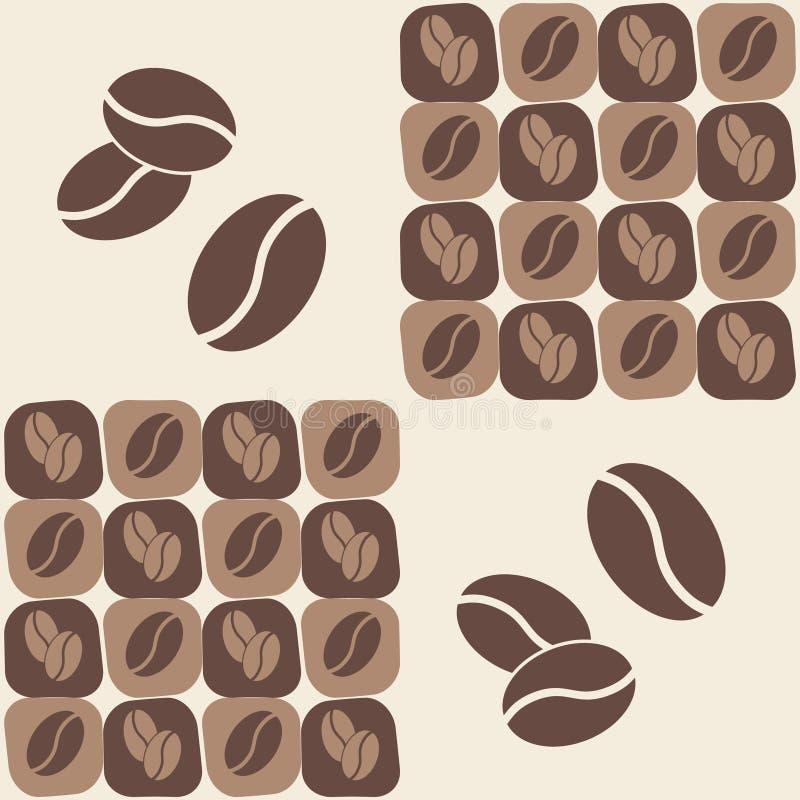 Grano de café ilustración del vector