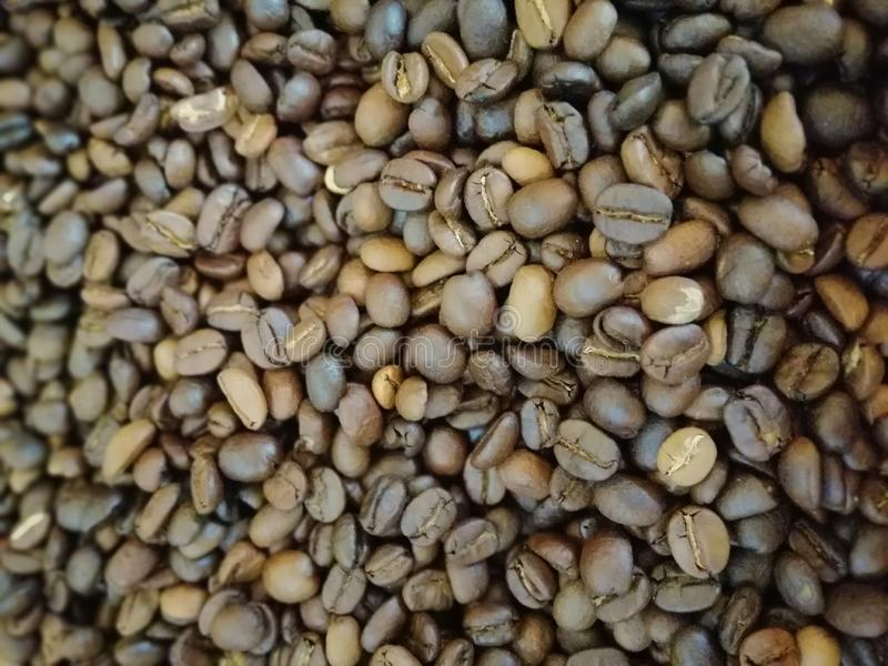 Grano de café siempre hacer que usted se siente bien 1 fotografía de archivo