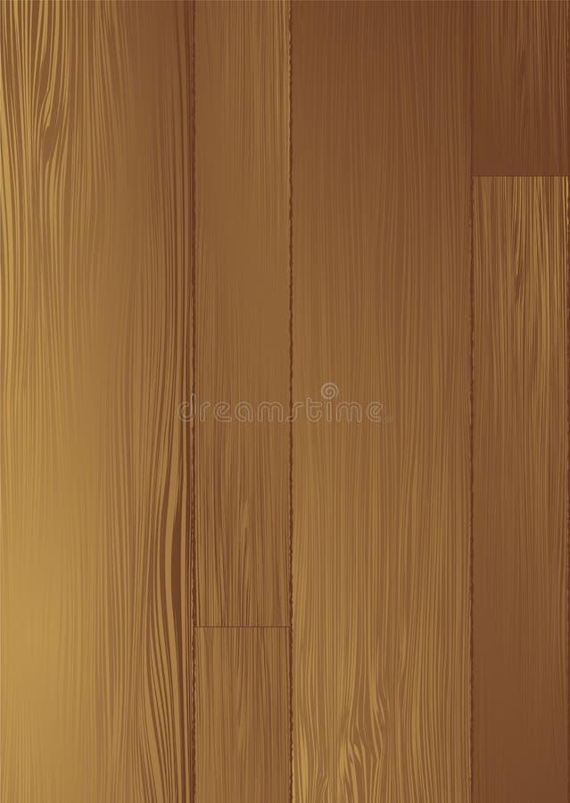 Grano de madera ilustración del vector