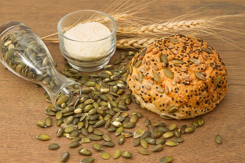 Grano intero bread fotografia stock