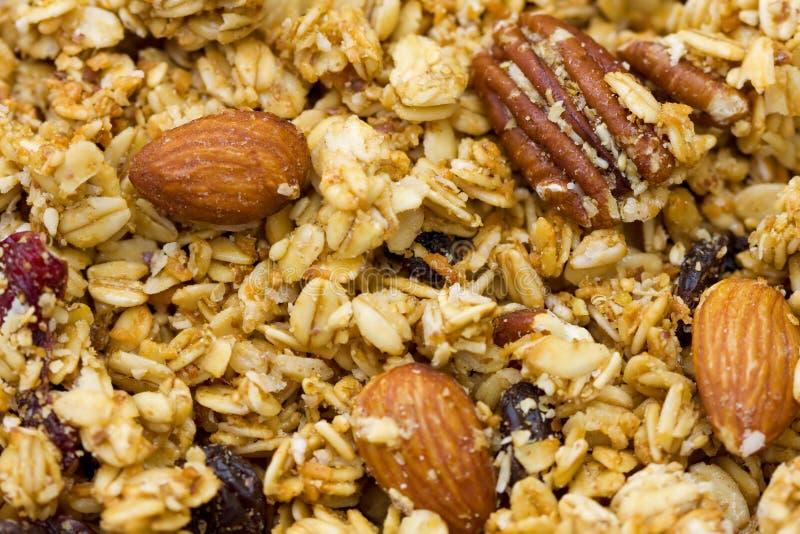 granola естественный стоковые фотографии rf