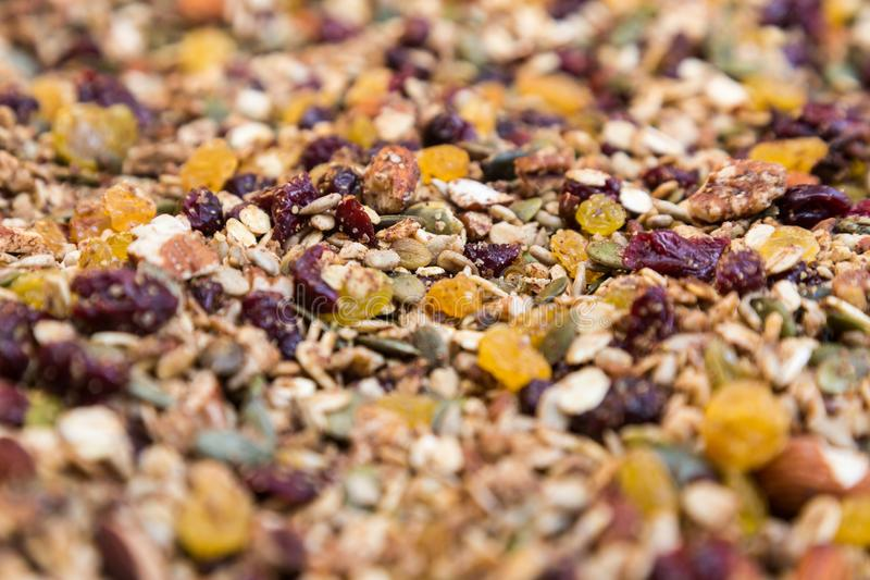 Granola image stock