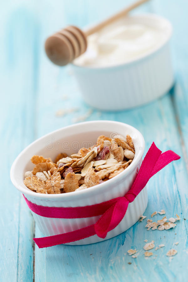 Granola foto de stock royalty free